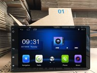 9 Inch 1024 X 600 Quad Core Android 6 0 For Toyota Sienna Car Deckless Gps