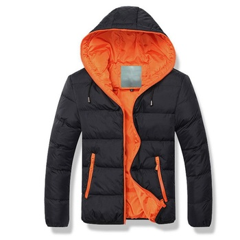 Men's Winter Autumn Casual Parkas Korean Hooded Thick Cotton Padded Jacket Youth Men Zipper Slim Coats Male Parka Outwear Warm - discount item  40% OFF Parkas
