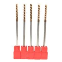 5PCS HRC60 6mm Solid Carbide Endmills ENDMILL D6X45XD6X150L 4 Flute Standard Length Side Milling Slotting Profiling