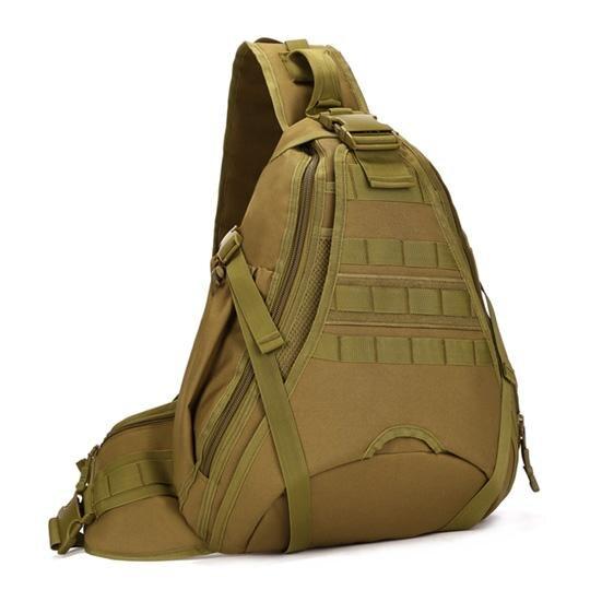 14 pouces sacs à dos d'ordinateur portable tactique unique épaule Molle sac à dos en Nylon imperméable chasse en plein air randonnée sacs de sport - 2
