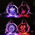 StarCraft 2 Crystal LED light keychain pendant hand to do the Protoss LOGO Christmas gifts