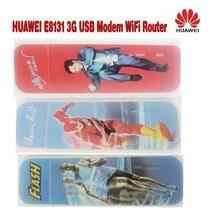 Партия из 20 штук 21.6 Мбит/с Huawei E8131 3G usb модем маршрутизатор с Слот sim-карты Поддержка 5 Wi-Fi