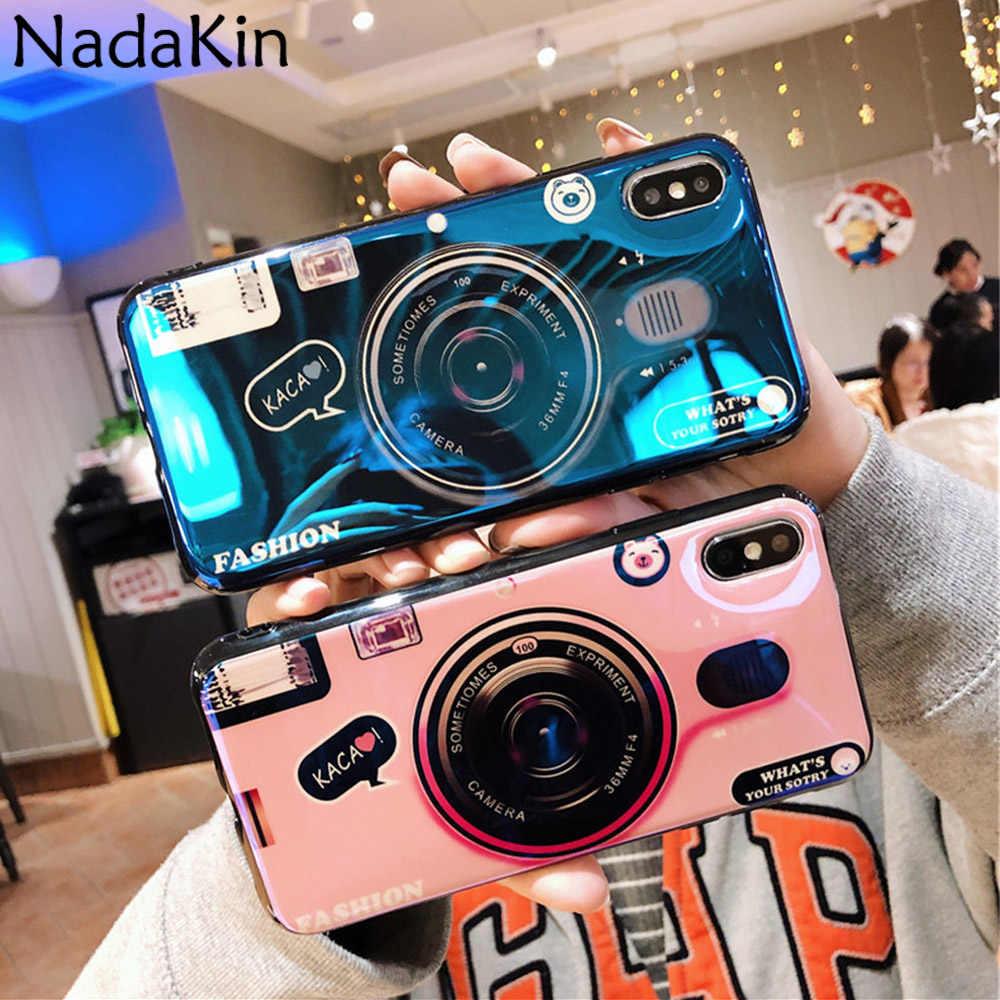 カメラパターンソフトシリコン Tpu ケースシャオ mi Pocophone F1 mi 9 SE 8 Lite プロマックス mi × 2 3 再生 A1 A2 ブルーレイかわいい電話シェル