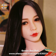 Top Quality WMDOLL Head For Full Silicone Sex Doll Japanese Adult Love Dolls Heads With Oral
