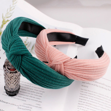 1PC Graceful style Women  Hair Accessories Lady Knotted Bow Headband flower Floral Patterns Elastic Head Wrap