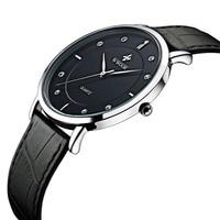 2017 WWOOR Top Luxury Brand Business Men Leather Rhinestone Crystal Quartz Watch Men S Watch Montre