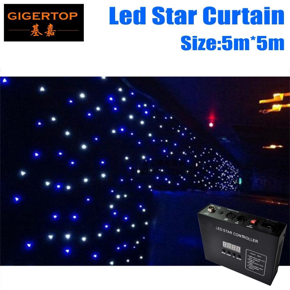 Цена со скидкой 5 м x 5 м светодиодный занавес звезды, RGBW цветные СВЕТОДИОДНЫЕ этап шторы led этап фон, LED Star ткань для Свадебные украшения