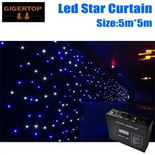 Discount Price 5Mx5M LED Star Curtain,RGBW Colored led stage Curtains LED Stage Backdrop,LED Star Cloth for Wedding Decoration