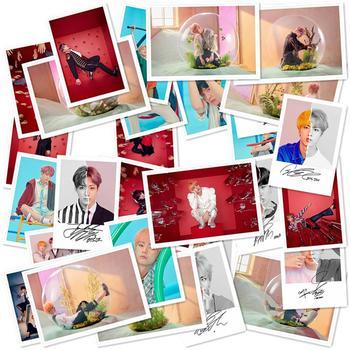 Kpop BTS Love Yourself Answer HD Poster Suga V Collective Photo Card  Jungkook Jimin Polaroid Lomo Photocard 30pcs