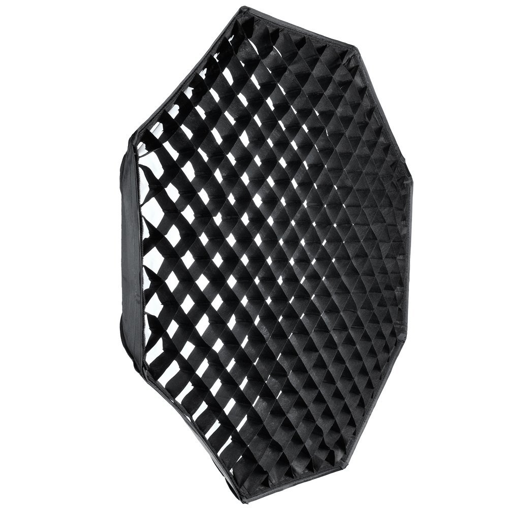Godox Octagon 120cm Grid Honeycomb Softbox Bowens Mount for Studio Strobe Flash for Photography studio supplies reflected light bowens mount octagon softbox 120cm with grid for studio flash photo studio soft box photography accesorios fotografia