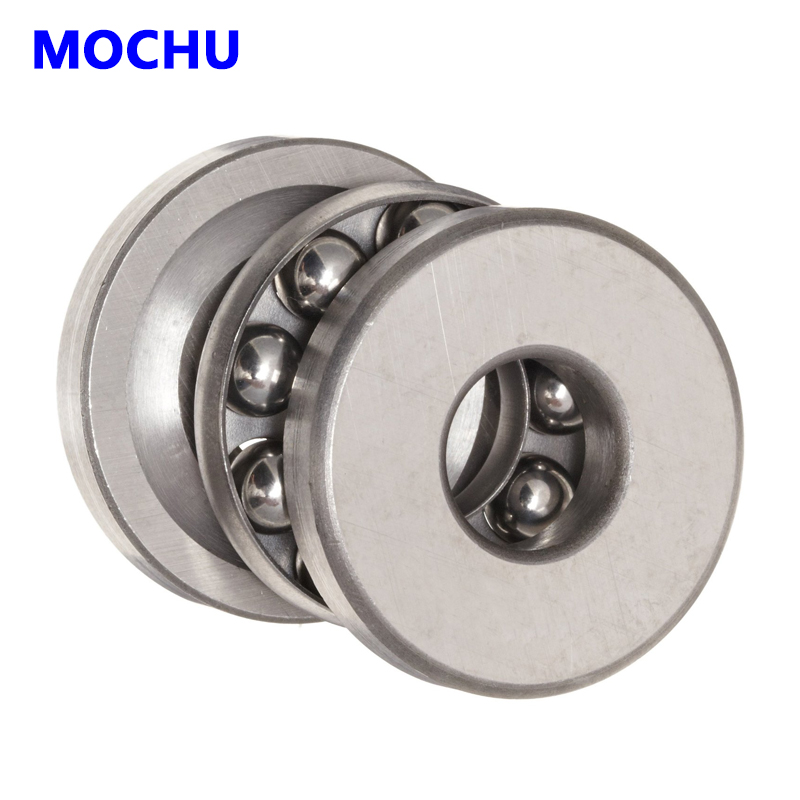1pcs 51417 8417 85x180x72 Thrust ball bearings Axial deep groove ball bearings MOCHU Thrust  bearing 1pcs 71901 71901cd p4 7901 12x24x6 mochu thin walled miniature angular contact bearings speed spindle bearings cnc abec 7