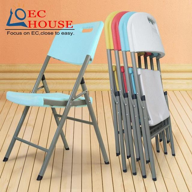 folding simple household outdoor leisure plastic training backrest Cr office comter conference FREE SHIPPING