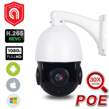 цены на 1080P 2MP PTZ Waterproof POE IP Camera CCTV Security Camera 30X Zoom 5MP Mini Speed Dome Camera Onvif POE Outdoor H.264 IR 50M  в интернет-магазинах
