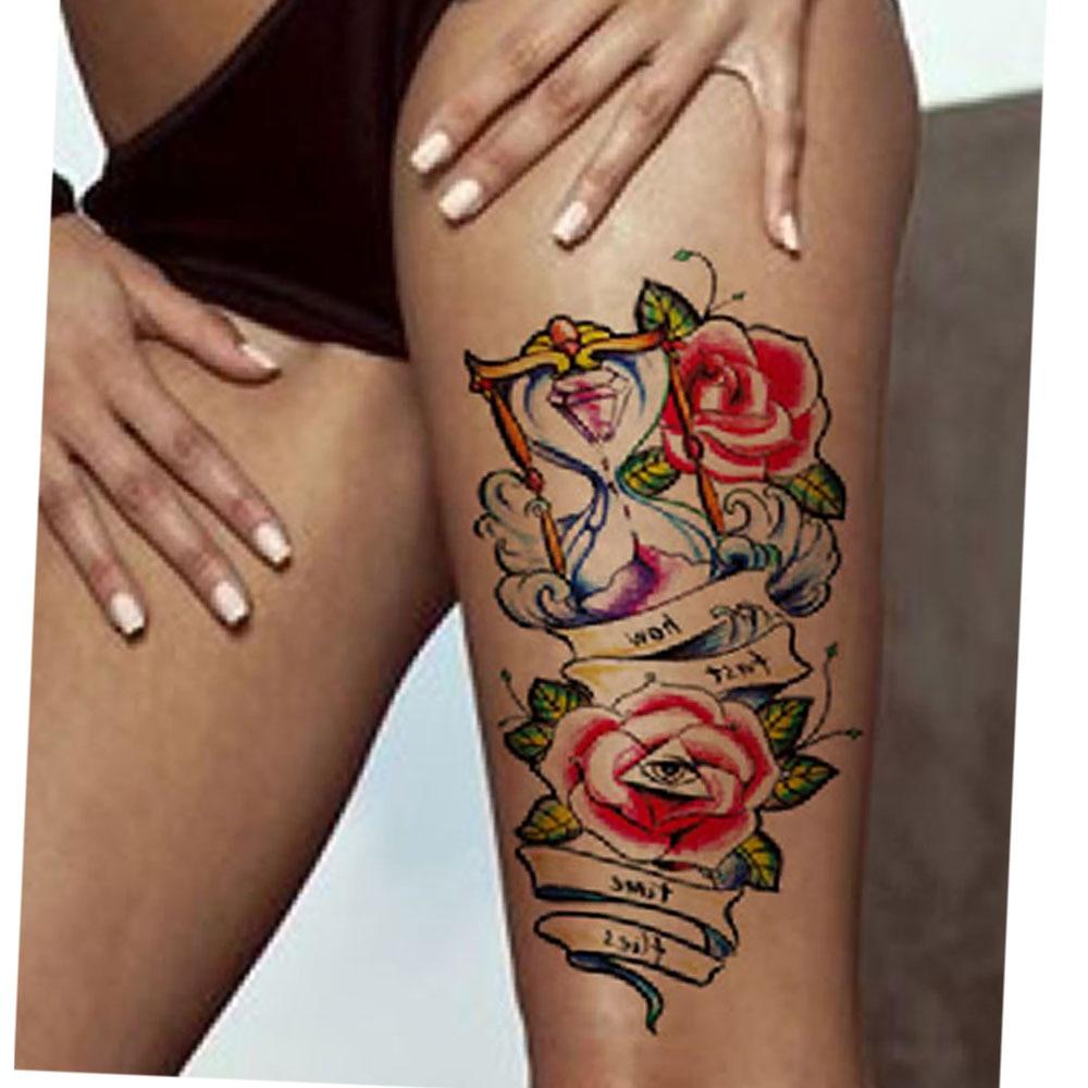 Yeeech Temporary Tattoos Sticker Fake Transfer Long Lasting Look ...