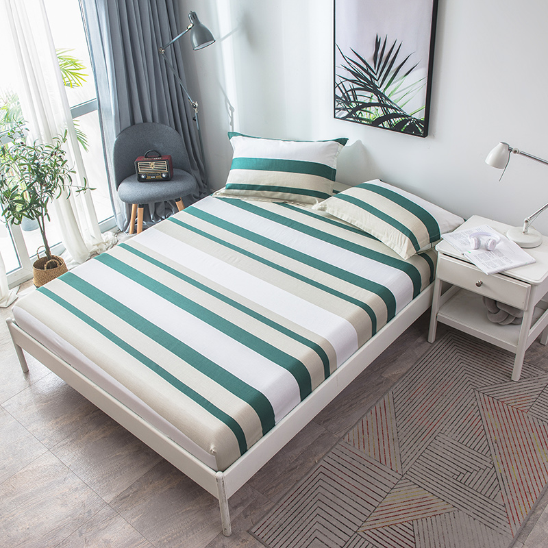 Wholesale  Sheets Fitted Bed Sheet Elastic Mattress Cover Bed Linen Bedspread Cotton Single Twin Full Queen Wholesale  Sheets Fitted Bed Sheet Elastic Mattress Cover Bed Linen Bedspread Cotton Single Twin Full Queen