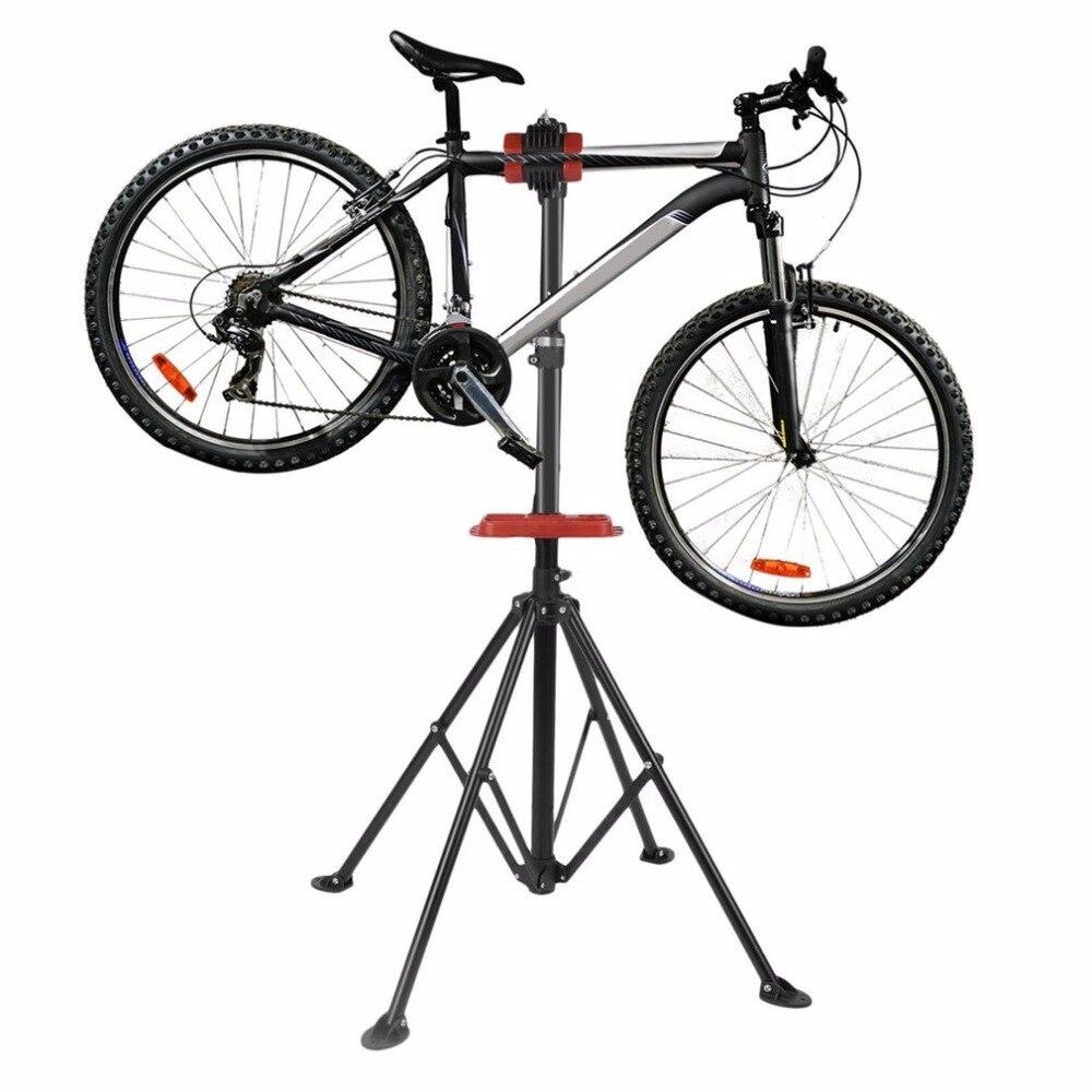 Aluminum bike repair stand kickstand mountain bicycle