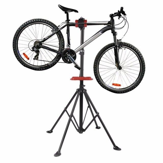 Aluminum Bike Repair Stand Kickstand Mountain Bicycle Wings Rack