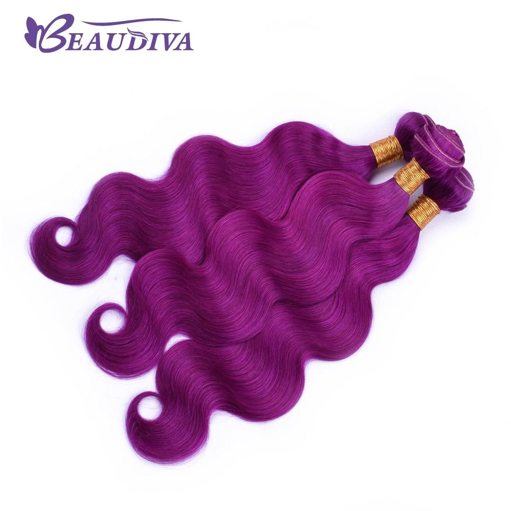 BEAU DIVA Body Wave Hair Bundles Brazilian Human Hair Bundles Remy Hair Extensions 4 Piece Bundles 10-26 inch Free Shipping