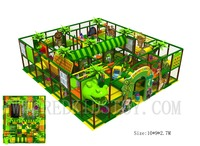 EU Standard Shipped to Lithuania Jungle Themed Indoor Play Zone With Dinosaur Head HZ 170412B|Playground|Sports & Entertainment -