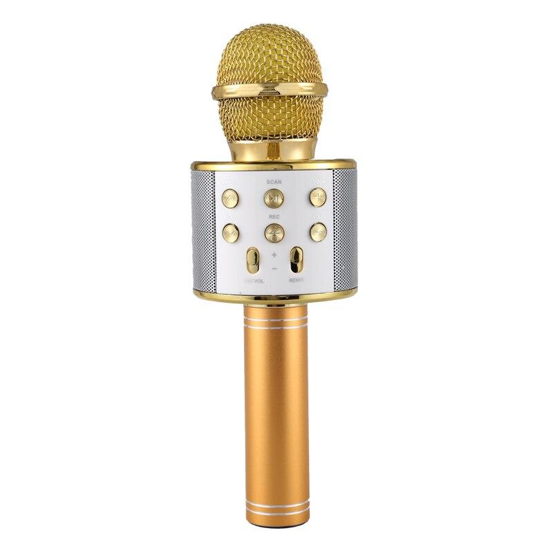 Karaoke Microfono senza fili Portatile di Bluetooth mini casa KTV per la Riproduzione di Musica e Canto Altoparlante Lettore Selfie TELEFONO PCKaraoke Microfono senza fili Portatile di Bluetooth mini casa KTV per la Riproduzione di Musica e Canto Altoparlante Lettore Selfie TELEFONO PC