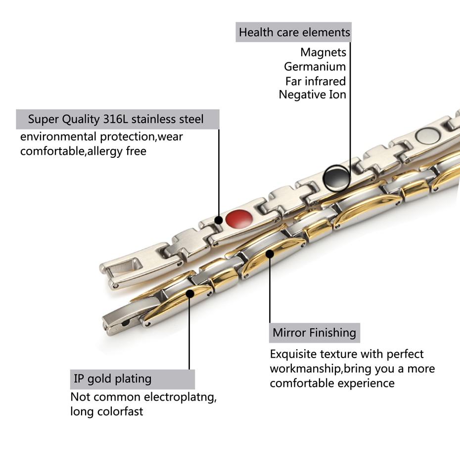 HTB1VvDDewHqK1RjSZFgq6y7JXXaT - Necklace Bracelet Sets for Women Bio Energy  Fashion Magnetic Therapy