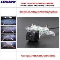 Liislee Intelligentized Back Up Reverse Camera Per Volvo S60 S60L 2015 2016/Parcheggio Back Up Camera/Guida Dinamica tracce