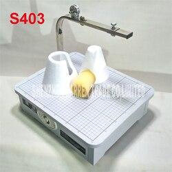 S403 wysokiej jakości 220 V gorącego drutu urządzenie do obcinania pianki maszyna do cięcia pianki narzędzie tabeli pulpit maszyna do cięcia pianki w Zestawy elektronarzędzi od Narzędzia na
