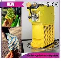 Commercial Mini Ice cream maker 15L/h Soft Ice cream machine Sundae Ice cream 220V/500W 0.4HP Aspera R134a Yellow/Black