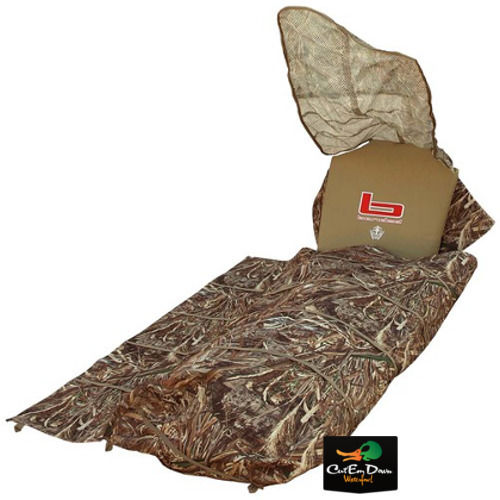 caf2ff586ca12 NEW BANDED GEAR KEYHOLE LAYOUT GROUND HUNTING BLIND MAX-5 CAMO DUCK GOOSE  DECOYS