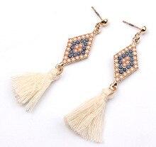 Vintage long tassel Earrings