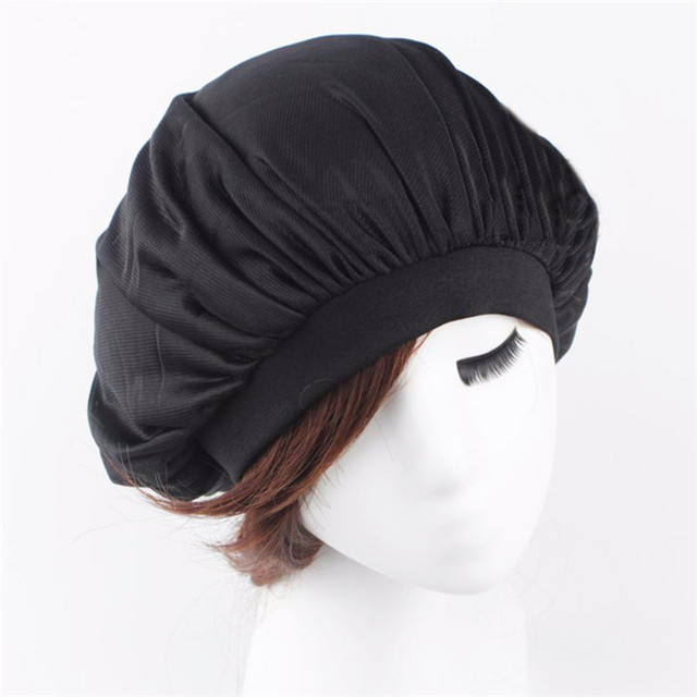 42c54e3be9aab Las mujeres dormir sombrero pelo gorra de quimio de sombrero tapa cabeza  cubre señoras turbante tapas