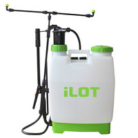 Homate heavy duty 16L garden sprayer with funnel 16L Knapsack Sprayer 16L with 5 Different Nozzle Tips and Repair Kit