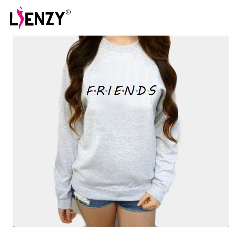 Friends TV Show Women hoodies casual sweatshirt coat jacket outwear tops pullover candy S-3XL hoodies
