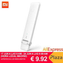 Xiaomi WIFI Repetidor 2, Amplificador Extensor 2 Universal Repitidor Wi-Fi Extender 300Mbps 802.11n Wireless WIFI Señal(China)