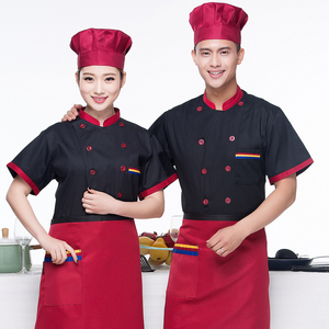 Image 4 - Men Long sleeved Chef Jacket Hotel Service Working Wear Restaurant Kitchen Work Tooling Chef Uniform Cooking Clothes Women 89