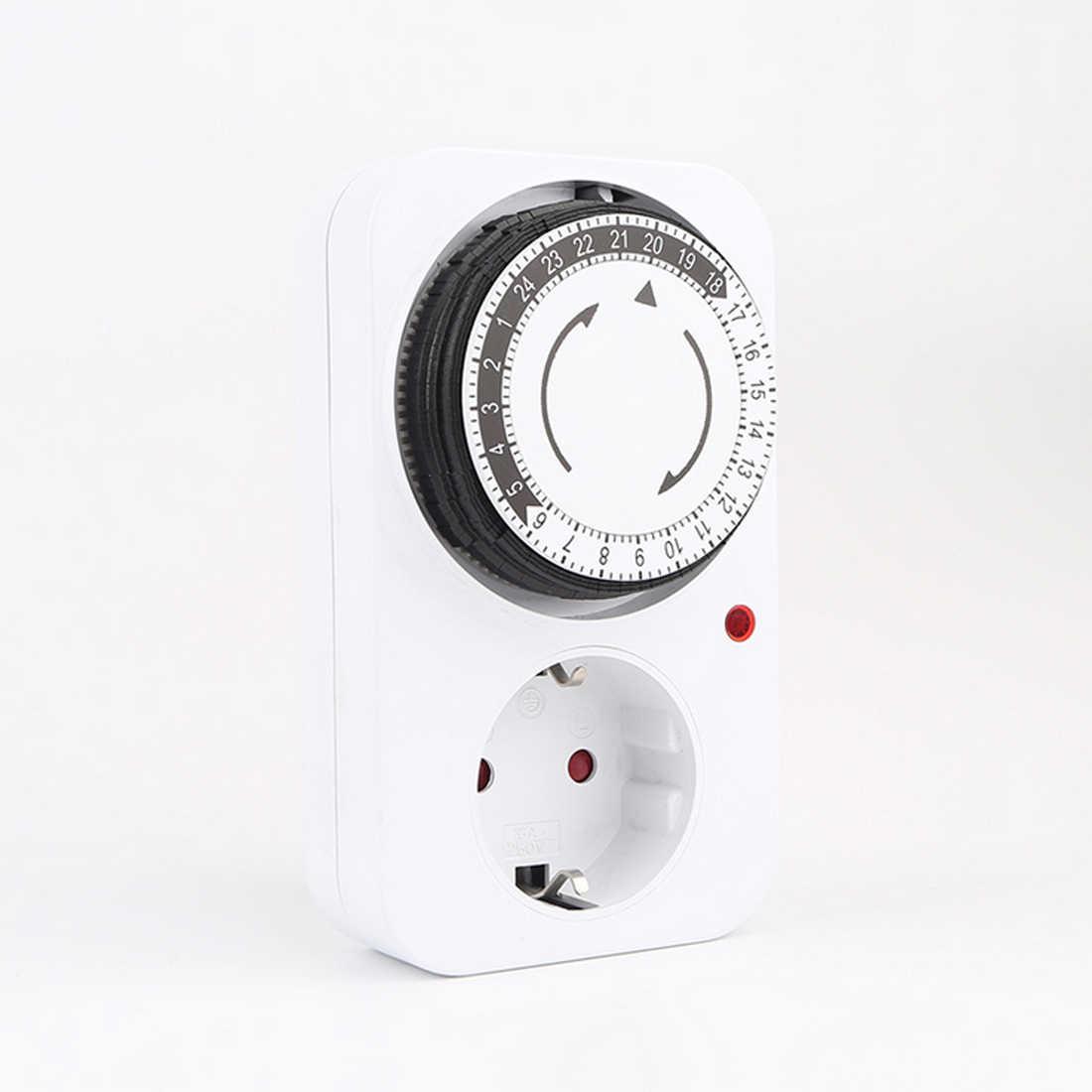 Mini timer mechaniczny ue/US/UK wtyczka energooszczędne gniazdo automatyczne wyłączanie zasilania domu inteligentny przełącznik odliczający gniazdo 125V 15A