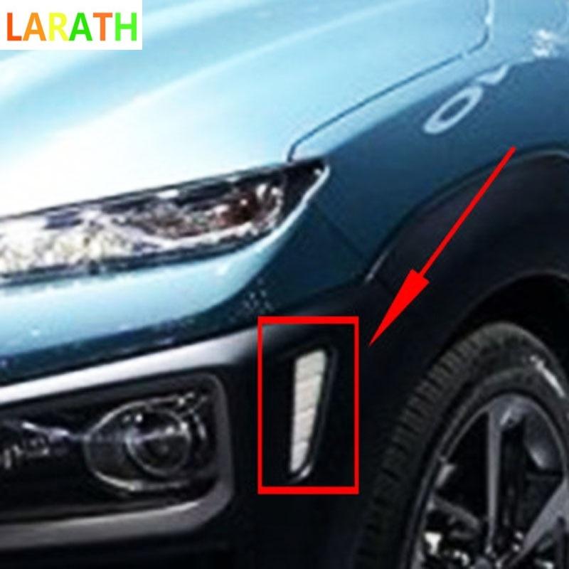 Tomefon For Hyundai Kona Encino 2018 2019 Abs Chrome Front: For Hyundai Kona Encino 2018 2019 ABS Chrome Front Side