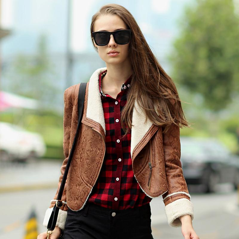 Brown suede leather jacket womens – Modern fashion jacket photo blog