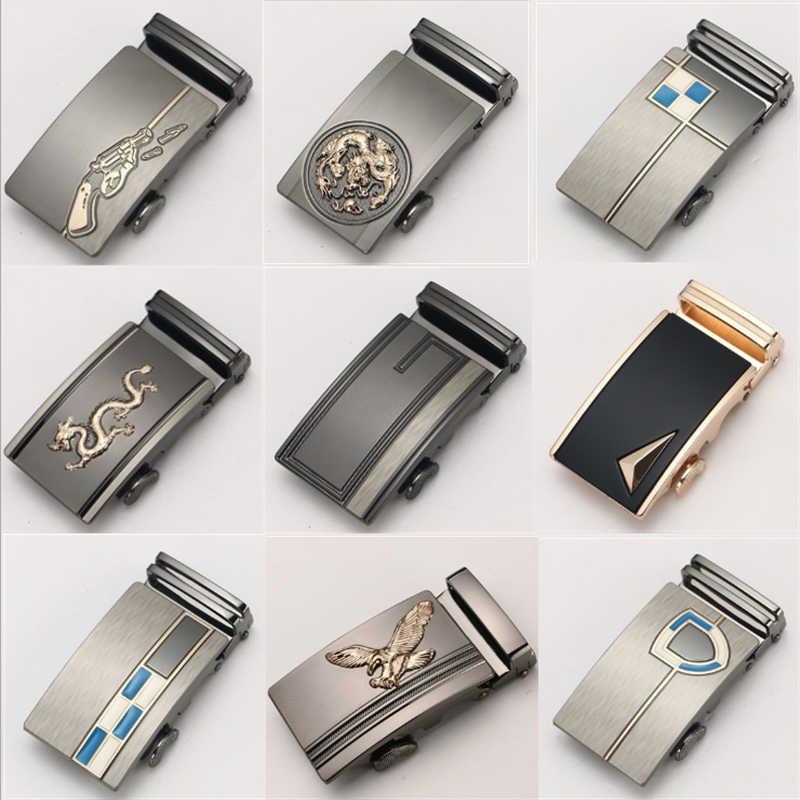 الرجال حزام مشبك مشبك حزام تلقائي حزام الخصر الرائدة الرجال السراويل الرائدة الأعمال الترفيه 3.5 سنتيمتر الرجال حزام الفاخرة العلامة التجارية