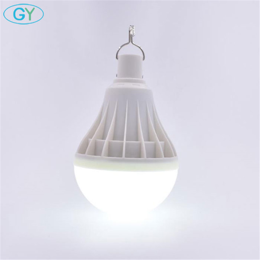 30W USB Charging Led Portable Lantern White Rechargeable Led Hanging Bulb For Camping Tent Street Vendor LED Emergency Light