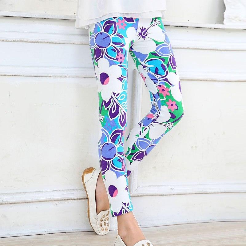Hot-Sale-2-14-Years-Baby-Kids-Girls-Leggings-Pants-Flower-Floral-Printed-Elastic-Long-Trousers-Skinny-Pencil-Pants-6-Colors-2
