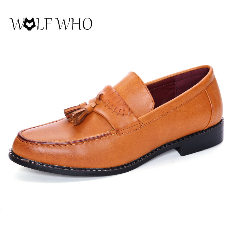 WolfWho New Fashion Men Shoes Soft Microfiber Leather Shoes Casual Slip-on Moccasins Boat Loafers Driving Flats Tenis Sapatilha new style comfortable casual shoes men genuine leather shoes non slip flats handmade oxfords soft loafers luxury brand moccasins