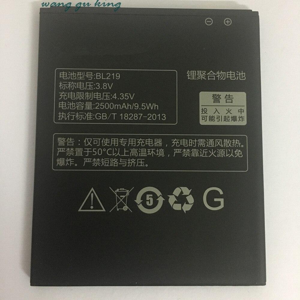 100% Оригинальные резервного копирования BL219 2500 мАч Батарея Применение для <font><b>Lenovo</b></font> A880 S856 A889 A890e S810t A850 + <font><b>A916</b></font>