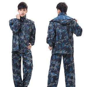 Image 3 - QIAN RAINPROOF Professional Outdoor Raincoat Thicker Heavy Water Gear Hiddenhat Fashionable Sportswear Waterproof Rain Gear