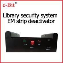 E Bit sistema de segurança biblioteca LOS strip desativador ativador/tag livro máquina de desmagnetização sensores infravermelhos