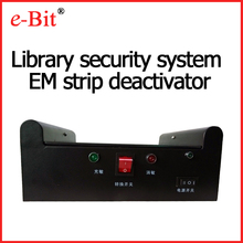 e Bit library security system EM strip deactivator/activator book tag degaussing machine infrared sensors