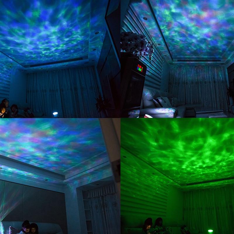 AGM Okean Dalğası Ulduzlu Səma Aurora LED Gecə İşıq Proyektoru - Gecə işığı - Fotoqrafiya 4
