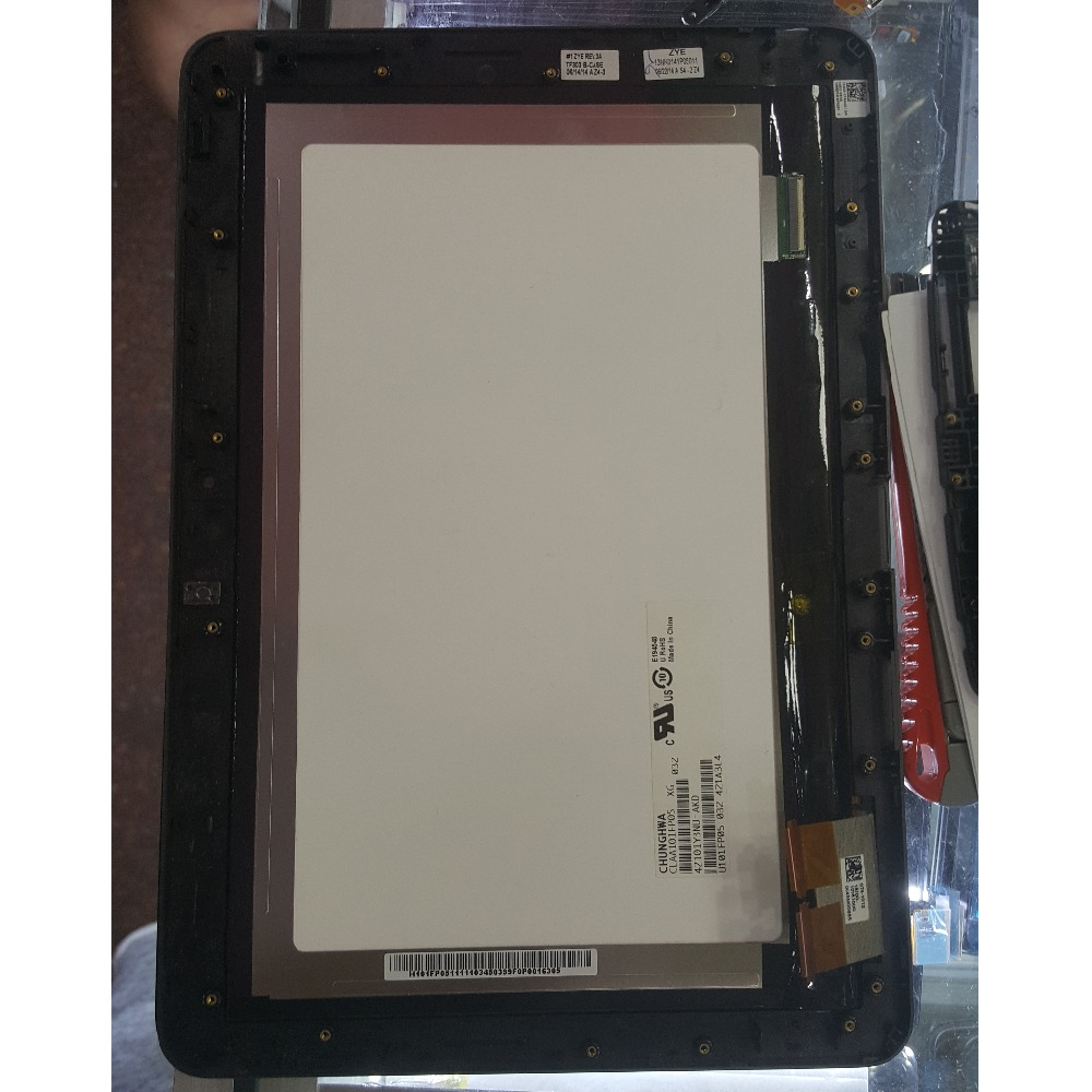 For Asus Transformer Pad TF303 TF303K TF303CL K014 Touch Screen Digitizer Glass+LCD Display Assembly With Frame Parts  for asus transformer pad tf700 v0 1 black full lcd display monitor with digitizer touch panel screen glass assembly with frame