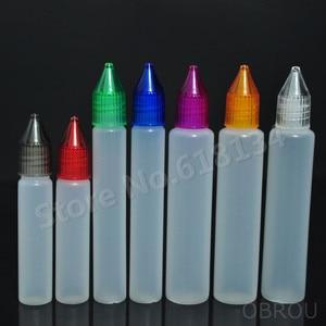 100 Sets/Lot 30ml pen Plastic Dropper Bottle Long Tip Wide Mouth Safe For e Liquid Eye Drop Vapor Vapt Juice e-Liquide 30 ml