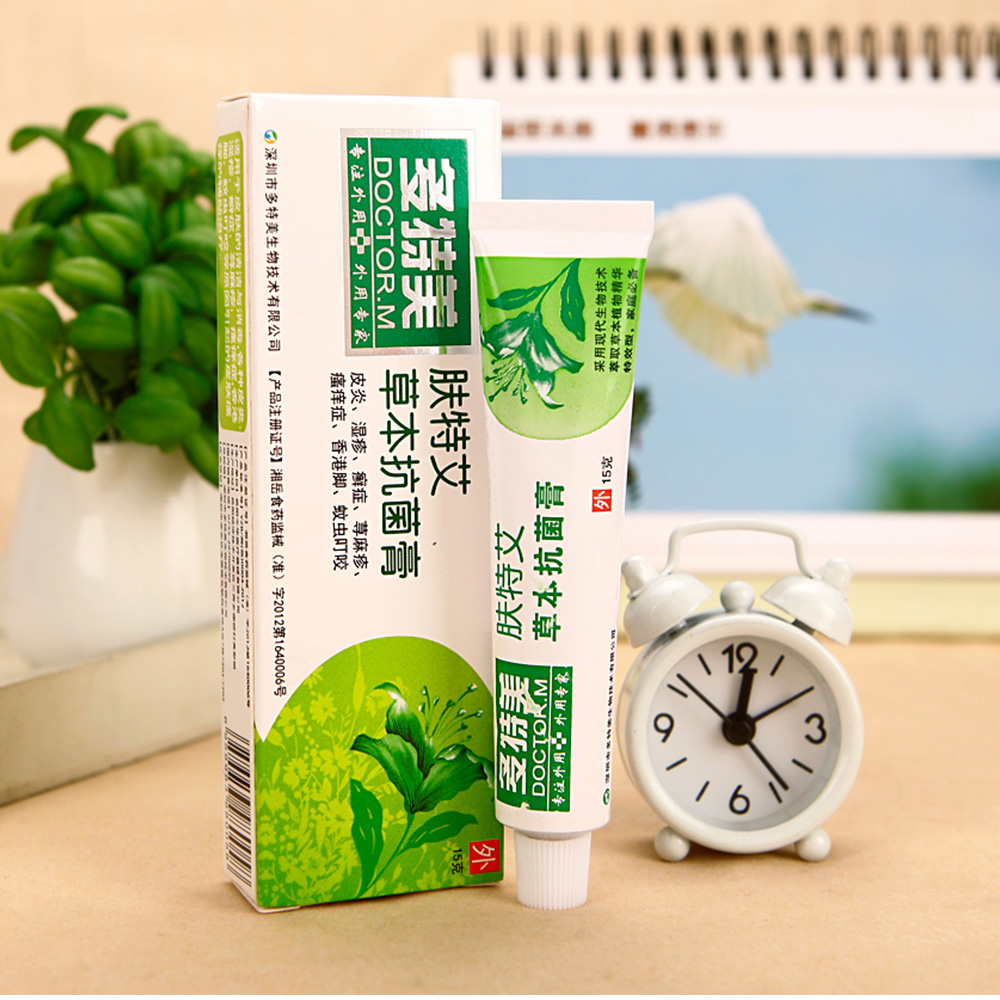DOCTOR.M herbal antibacterial skin itch creams psoriasis skin allergy dermatitis and eczema cream chinese ointment